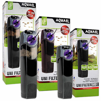 Aquael UniFilter UV Internal Filters - 500, 750, 1000 for Aquariums