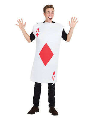 Wonderland-Shows-Unisex-Dance-SPADE PLAYING CARD TABBARD Costume All Ages