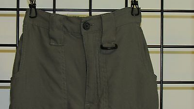 Boy Scouts Of America Green Scout Switchback Uniform Shorts Pants Sz Youth Small