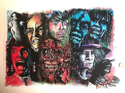 Creepshow Print From My Original Artwork Stephen King George Romero Poster