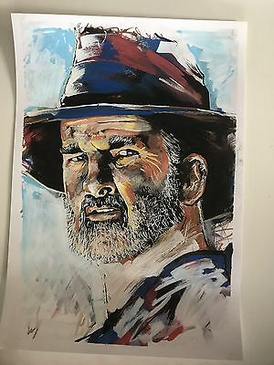Wolf Creek Mick Taylor John Jarratt Print From My Artwork Poster Horror Film