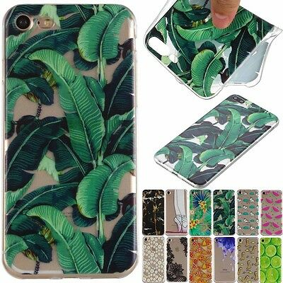 Back Pattern Soft TPU Silicone Ultra Thin Case Cover Skin For Samsung Huawei iPh