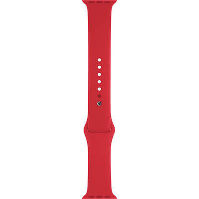 Apple Watch Sport Band (42mm, PRODUCT(RED), Stainless Steel Pin, Sm/Med/Lg - VG