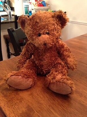Russ TEDDY Bear  Honeyfitz Brown Plush Toy STUFFED ANIMAL Collectible 14""