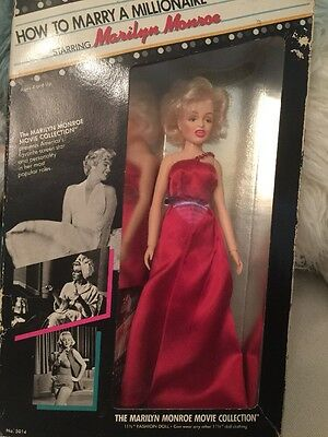 Marilyn Monroe Movie Collection Doll How to Marry a Millionaire by Tristar NIB