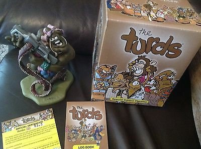 The Turds Figurines Rimbo With Box and Log Book