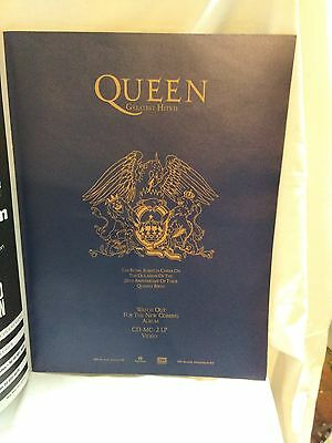 Queen Greatest Hits 2 20 Years  Programme 2 November 1991