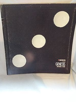 genesis invisible tour programme american version as Michelob presents