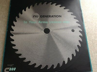"nu generation - in your arms , rescue me , excellent condition 12"" vinyl"