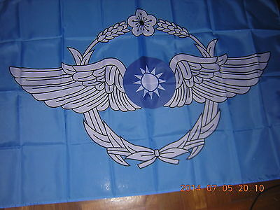100% NEW Reproduced Flag of Republic of China ROC Taiwan Air Forces Ensign 3X5ft