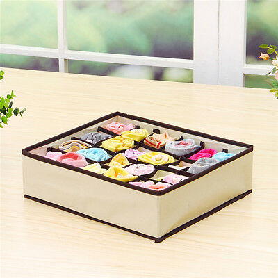 20 Compartment Foldable Dividers For Draws. Underwear Socks Ties Organiser