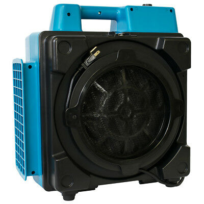XPower X-2380 1/2 HP 550-Cfm 3 Stage Pro Clean Purifier Air Scrubber, Blue