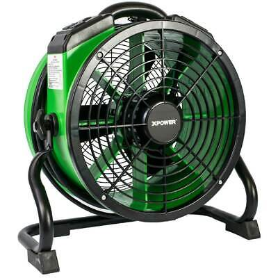 XPower X-34AR-green 14-Inch 1/4 HP 1720-Cfm Professional Axial Fan, Green