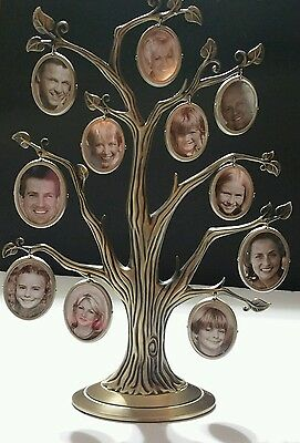Decorative Family Tree Hanging Picture Frame 11 Double Sided Hanging Frames