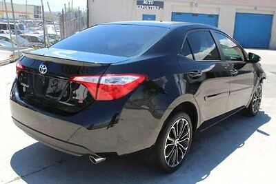 2015 Toyota Corolla S 2015 Toyota Corolla S Damaged Rebuilder Only 26K Mi Gas Saver Perfect Project!!
