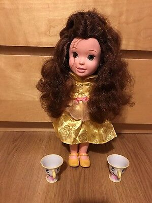 BELLE, BEAUTY AND THE BEAST, TODDLER ANIMATOR DOLL, 41CM. Excellent Condition.