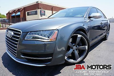 2013 Audi S8 2013 Audi S8 Sedan 2 Owner Clean CarFax! 2013 Gray Audi S8 Sedan 2 Owner Clean CarFax like 2010 2011 2012 2014 2015 A8 S7