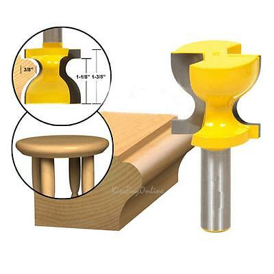"1/2"" Shank Window Sill Chair Stool Edge Trim Router Bit Woodworking Carving Tool"