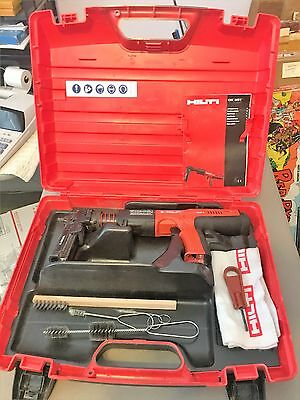 Hilti DX351 Powder Actuated Gun in Case With assorries ( Factory Refubished)