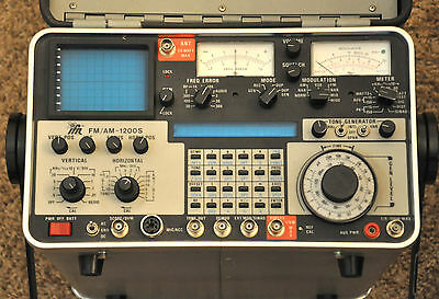 Aeroflex IFR 1200S AM/FM Communication Service Monitor 1200 Spectrum Analyzer