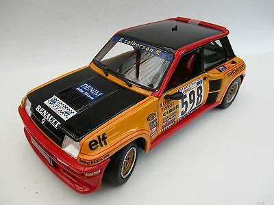 Renault 5 Turbo  #598  1979 Italy Rally  Universal Hobbies  1:18  OVP  NEU
