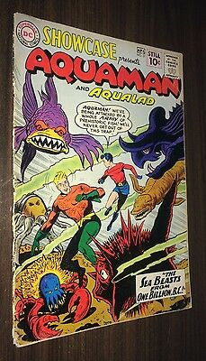 SHOWCASE -- #31 & #32 & #33 -- Early AQUAMAN Appearances -- Complete Copies