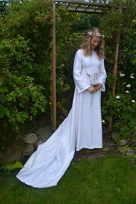 Vintage Silk Wedding Dress