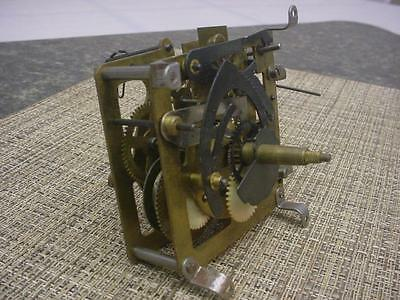 German-Made Hubert Herr Triberg Brass Cuckoo Coo Coo Clock Movement E1038b