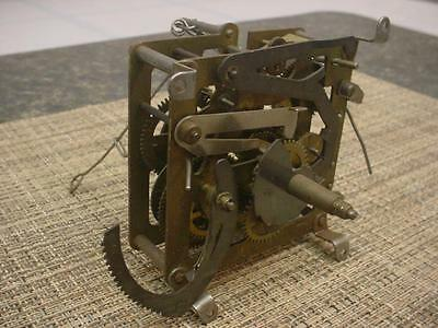 German-Made Hubert Herr Triberg Brass Cuckoo Coo Coo Clock Movement E1038a