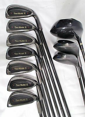 10 Club Golf Set Confidence ESP Driver &Tour Model II Melonite 3W 5W & 4-P Irons