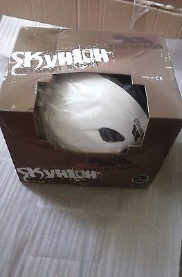 Trespass Skyhigh Snow Sport Helmet - White Large 58-62cm