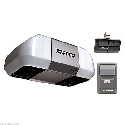 LiftMaster 8355 Premium Series 1/2 HP Belt Drive Garage Door Opener MyQ W/O Rail