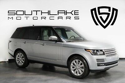 2016 Land Rover Range Rover  16 LR RR HSE-Sil/Ivory-Driver Assist Pkg-Blk Contrast Roof-1 Owner-Clean Carfax!