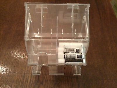 Lip Balm Counter Display/Dispenser, 4 Cell, Clear Acrylic, Holds 72 pc,NEW USA