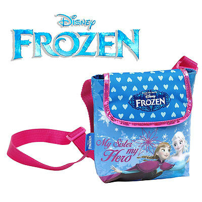 Official DISNEY Frozen - Mini Shoulder Bag Handbag Case - Anna Elsa 220