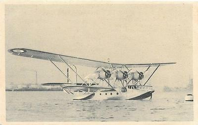 1930s France Breguet 521 Bizerte Flying Boat Unused Military Aircraft Postcard