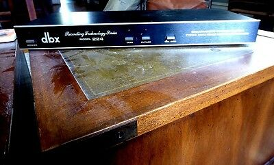 dbx 224 Simultaneous Encode/Decode Type II Tape Noise Reduction System-Recording