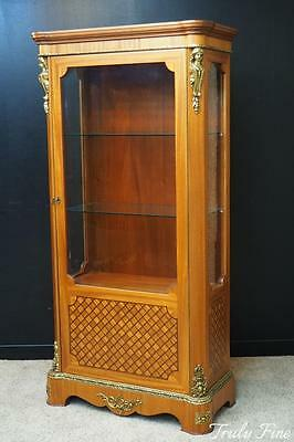 BEVAN FUNNELL French Louis XV Vitrine Curio Display Crystal Showcase Cabinet