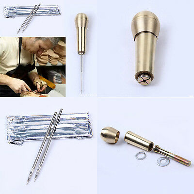 1 Sets Kit Tool Shoe Repair Tool Tent Needle Leather Vintage Canvas  Sewing Tool