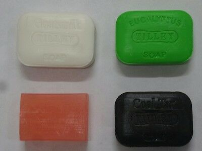 TILLEY SOAPS 100gm x4 (you choose the type)