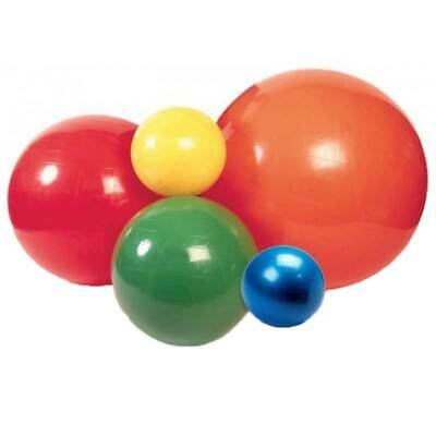 Cando Inflatable Balls Non-slip PVC Vinyl Surface/Supports 300lbs With Poly Bag