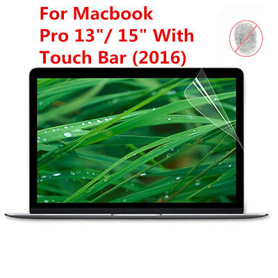 "Matte Screen Protector Skin Cover for Mac Book Pro 13"" & 15"" With Touch Bar Lot"