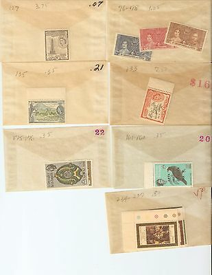 ST. KITTS-NEVIS Mint NH New Issues 1937-1970 NO RESERVE!!!