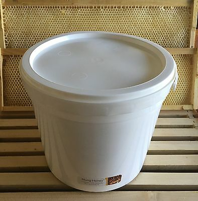 Tasmanian Unprocessed Cold Extracted Raw Honey - Pure Clover - Bulk 6KG