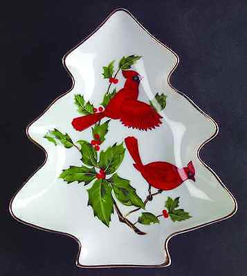 Lefton CARDINAL 4540 Tree Dish 6996611