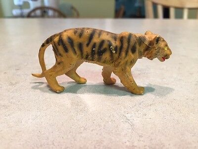 Collectible Britains LTD of England Plastic Tiger figure from the early 1970's