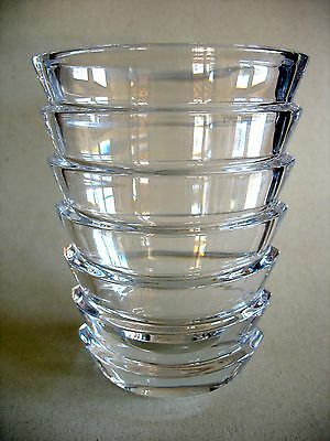 original Baccarat Kristall Vase Modell COCO
