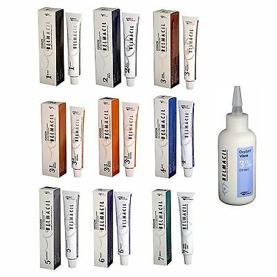 Belmacil EyeLash & EyeBrow Tint 20mL or Oxidant FREE POST