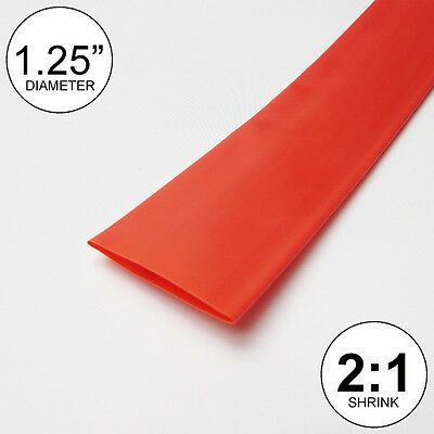 2mm 2:1 Heat Shrink Tube Wire Wrap 33ft Red uxcell Heat Shrink Tubing 3//32-inch