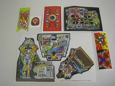 He-man Vintage Castle Gray Skull Replacement Stickers